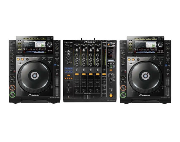 PioneerCDJ 2000-DJM 800